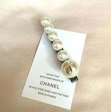 VIP Gift Chanel Beauty Hair Hair Barrette With Pearls Brand New