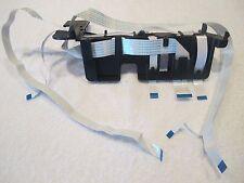 HP OfficeJet 6500 Inkjet Printer 3 Flat Ribbon Cables & Frame Assembly Part Only