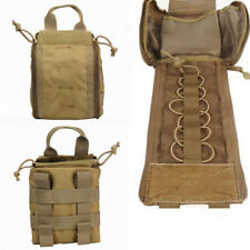 Molle Military IFAK First Aid Medical Bag Army EMT Accessory Tactical Pouch Tan