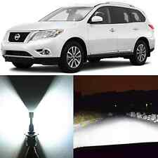 Alla Lighting High Low Beam Headlight H11 White LED Bulb for 13~17 Nissan Sentra