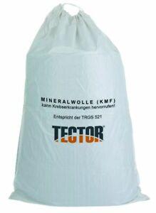 KMF Sack, Entsorgungssack Mineralfasersack  140x220cm a'10 Stück