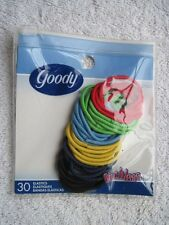 30 Goody Ouchless No Metal Elastic Hair Bands 2004 Old Formula Red Blue Green