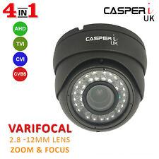 CASPERi 1080p 2MP Full HD CCTV Dome Camera 2.8mm-12mm Varifocal lens IR 30M