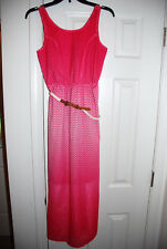 New pink layered sundress Girls 14 by paper doll