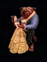 Jim Shore Disney Traditions, Beauty and the Beast Moonlight Waltz-Dancing Statue