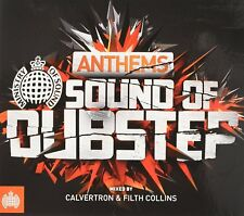 MINISTRY OF SOUND ANTHEMS - THE SOUND OF DUBSTEP (2CD) SEALED VG