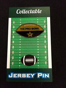 Green Bay Packers Brett Favre football lapel pin-Collectible