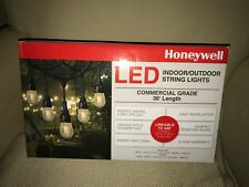 Honeywell 36' Commercial Grade LED Indoor/Outdoor String Lights Bistro Party