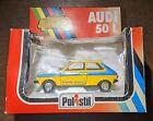 AUDI 50L diecast Polistil 1:25 (based on VW polo mk1) RARE boxed Model 1978