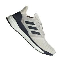 Adidas Solar Boost men's sneakers running shoes raw white/legend ink D97435