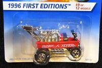 1996 Hot Wheels First Editions #9 Radio Flyer Wagon Basic Wheels #374  32-091717
