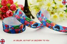 "1m TROLLS Grosgrain Ribbon 22mm 7/8"" wide - USE FOR BOWS, CAKES, CRAFTS"