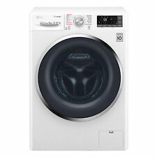 LG F4J8JS2W 10kg Load 1400RPM Spin Freestanding Washing Machine a White