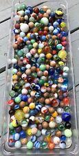 #2  Vintage Mix of 375+ Old Marbles Akro Peltier MK Alley German Handmade Clays