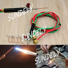 Top Quality Jewelry Gas Torch Welding Soldering Little Torch Full w/ 5 Tips New
