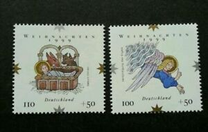 [SJ] Germany Christmas 1999 Angel Religious Culture (stamp) MNH