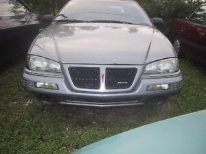 1992 93 94 95 Pontiac Grand Am LEFT Driver Side Headlight Head Light Lamp
