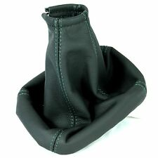 OPEL ASTRA 1984-04 GREEN STITCH GEAR STICK GAITER GENINE LEATHER BOOT COVER