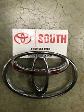 2001-2004 Toyota Tacoma Front Grille Emblem Chrome 75311-04040 Genuine OEM Part