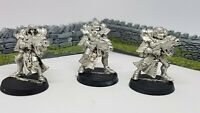 Sister of Battle x3 Metal Adepta Sororitas Sisters Army 40K 1990s