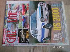 $$u Revue Gazoline N°88 Ford Escort RS 2000  Opel Manta  Peugeot 172 BS  Kendall