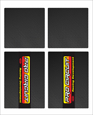 PRO CIRCUIT RACING UPPER MIDDLE FORK GUARDS DECAL STICKER GRAPHIC MOTOCROSS