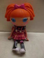 "LALALOOPSY BEA SPELLS A LOT SCHOOL GIRL DOLL 12"" ORIGINAL OUTFIT 2009 10-16"