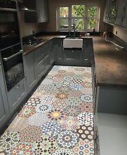 Istanbul Hexagon Multi Colour Patchwork Moroccan Porcelain WALL & FLOOR TILES