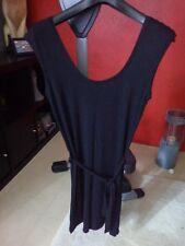Robe noire droite - H&M
