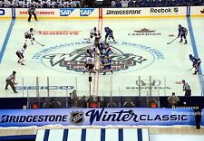 Winter Classic 2017 Chicago BLACKHAWKS St. Louis Blues 8x10 Opening Face Off