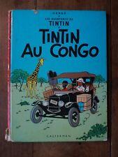 TINTIN - TINTIN AU CONGO- B38BIS - HERGE