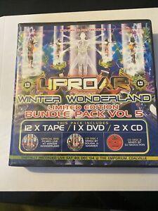 Uproar Winter Wonderland Vol 5 12 Tape Pack Drum & Bass