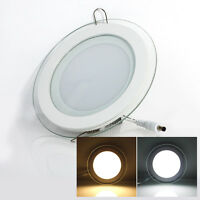Dimmable CREE LED Recessed Downlight Ceiling Panel Light Flat Wall Lamp + Driver