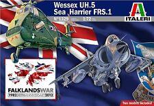 Italeri 1/72 Wessex UH.5 Sea Harrier FRS.1 Model Kit Falklands War 1329