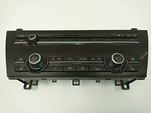 BMW 6 COUPE F13 2014 CLIMATE CONTROL PANEL 9263762 / 11712237