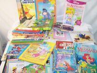 Lot of 53 Children's Books Disney Mister Rogers' Neighborhood Precious Moments