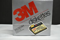3M 10 Diskettes DS,DD 5(1/4)Inch Formatted Floppy Disks Factory Sealed Box New