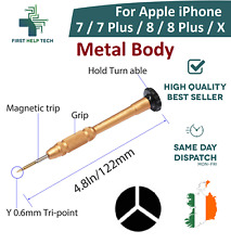 For iPhone 7 8 / 7 8 Plus / X Screwdriver Tri-Point 3-Point Y Tool 0.6 Tri Wing