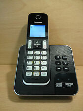 PANASONIC KX-TGD320EB Cordless House Home Phone + Answering Machine Single -UB