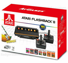 Atari Flashback 8 Classic Video Game Console w/ 2 Controllers 105 Built-In Games
