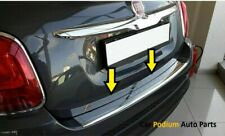 For 2015 Up Fiat 500X Chrome Rear Bumper Protector Scratch Guard Stainless Steel