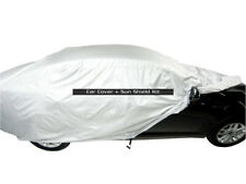 MCarcovers Fit Car Cover + Sun Shade for 2002-2004 Ferrari 456 M GTA MBSF_77393