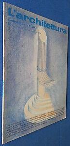 L'ARCHITETTURA CRONACHE E STORIA DESIGN ARREDAMENTO N°303 1981 - FOTO SOMMARIO