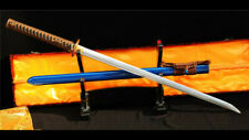 O-Kissaki Ninjato Straight Blade Japanese Sword 1095 Carbon Steel Functional