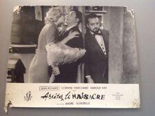 PHOTO D'EXPLOITATION (LOBBY CARD) : ARRÊTEZ LE MASSACRE (C. MARCHAND J. RICHARD)