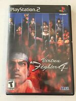 VIRTUA FIGHTER 4 For PlayStation 2 PS2