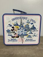 """Disneyland 65th Anniversary  Lunchbox """"Happiest Place Earth"""" Target Exclusive"""