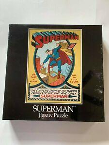 Superman Jigsaw Puzzle 550pcs. DC Comics 1939, 1988 Brand new.