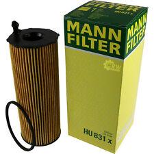 ORIGINALE Mann-Filter Filtro olio Filtro HU 831 X FILTRO OIL