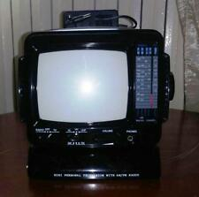 TV TELEVISORE PORTATILE 5' POLLICI CON RADIO AM/ FM VINTAGE
